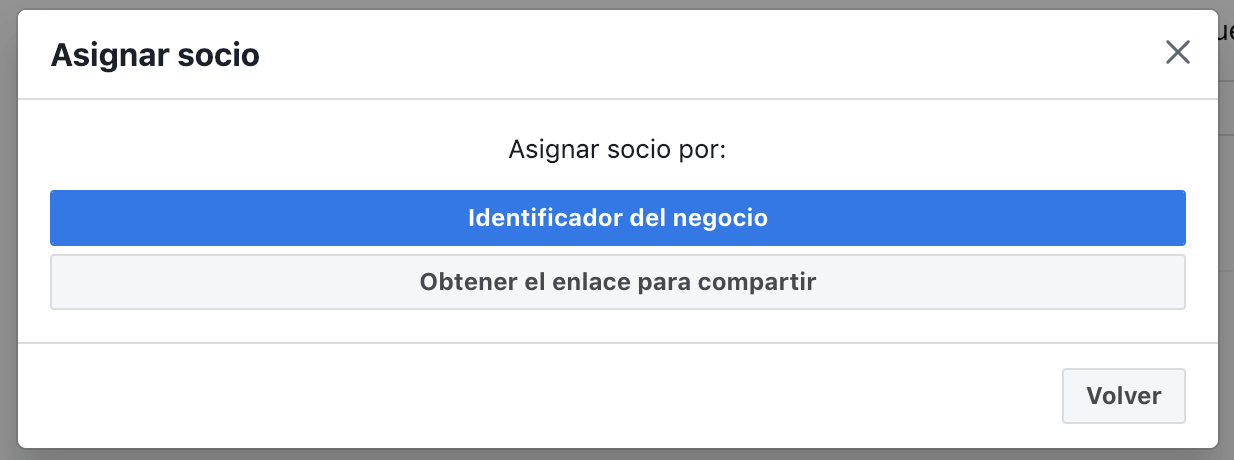 asignar socio en el business manager de facebook